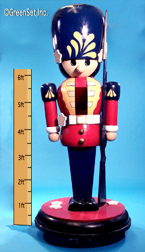 Toy Soldier: 9ft Tall