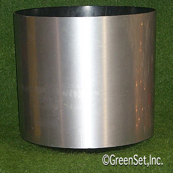 Brushed Aluminum Pot