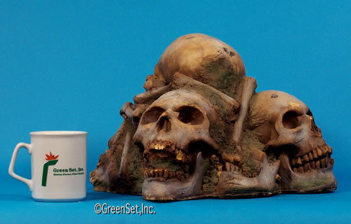 Pile O`Skulls and Bones - back view