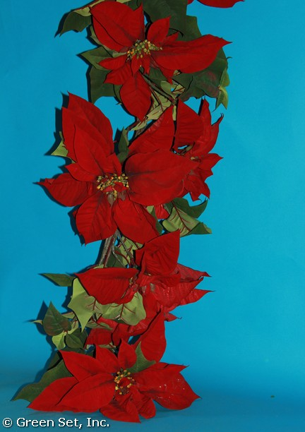 Garland: #1 Poinsettia