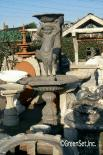 Cherub With Bowl Fountain