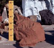4ft. Red Shale Rock