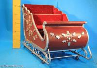 Sleigh: #101 Burgandy Wood