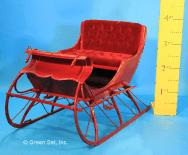 Sleigh: #113: Antique, Metal & Fiberglass